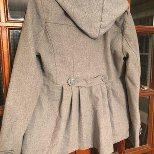 Gray Peacoat